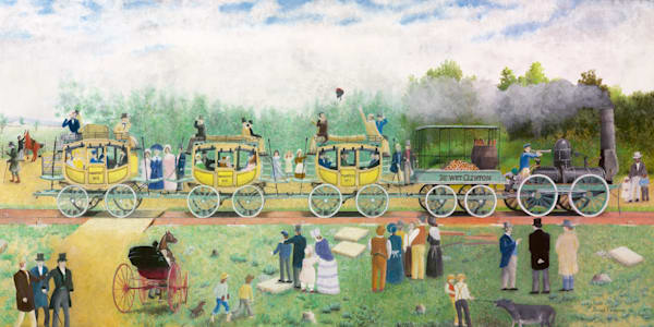 DeWitt Clinton Locomotive 1831