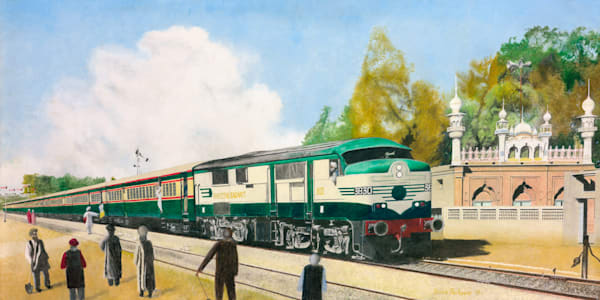 Pakistan Railways - Alco-DL-500 World Series - Original