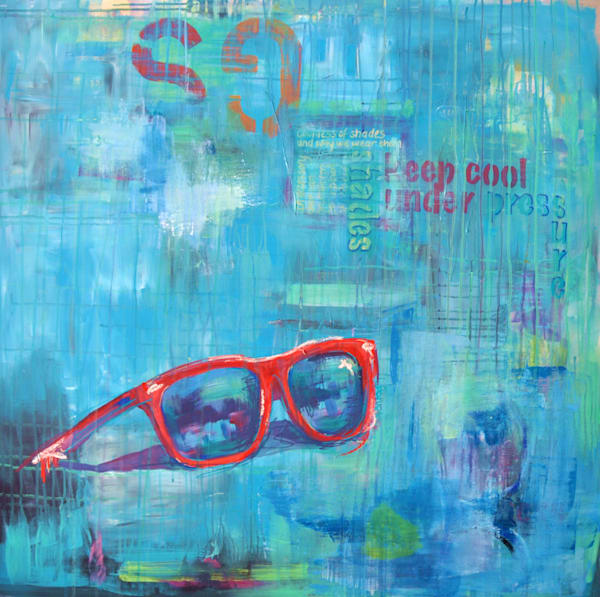 Sunnies Original Painting by Steph Fonteyn