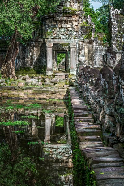 Reflections of Time | Cambodia | Susan J Photography