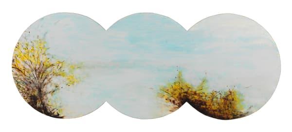 shaped landscape-art, shaped paintings-art