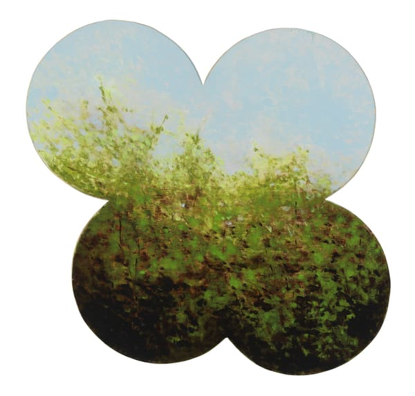 shaped paintings-art, shaped landscape paintings-art