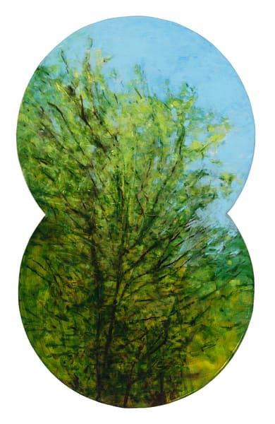 shaped paintings-art, shaped landscapes-art, vertical landscape-art