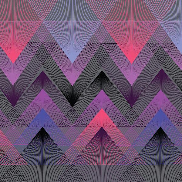 vortex, wall art, graphic design, op art, abstract art