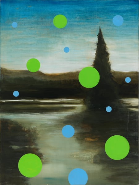 abstract landscape-art, vertical abstract landscape-art