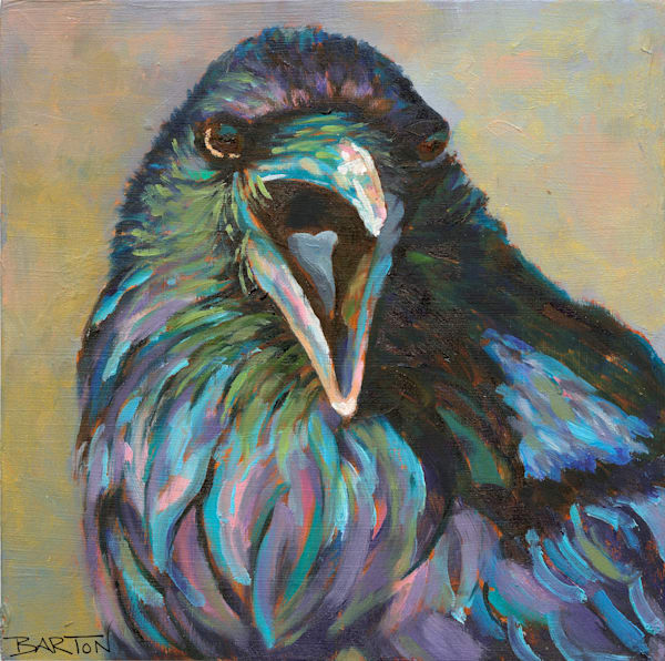 Crows and Other Birds art
