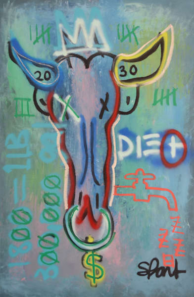 Beef is King II Fine Art Print by Steph Fonteyn
