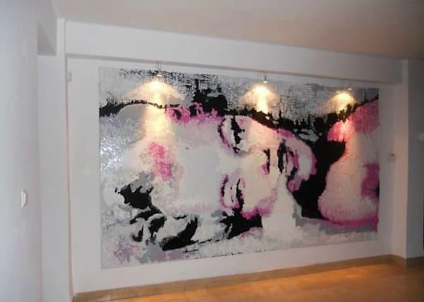 Giant Monroe Art | Atelier Steph Fonteyn