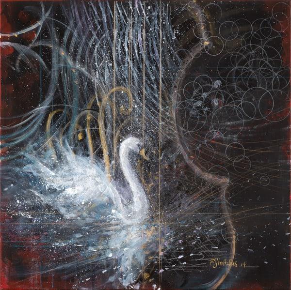 Camille St Saens Le Cygne Art | Freiman Stoltzfus Gallery