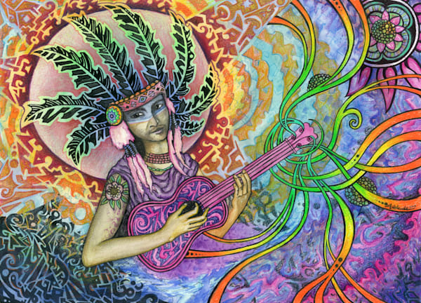 song medicine therapeutic artwork