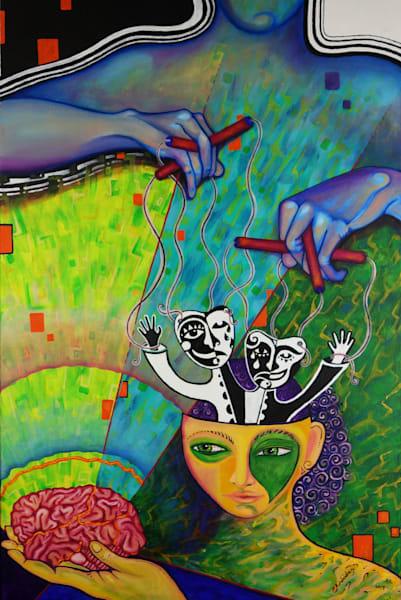 Mind Control Art | Adelaide Marcus