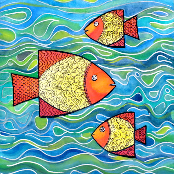 Funky Fish Art For Sale