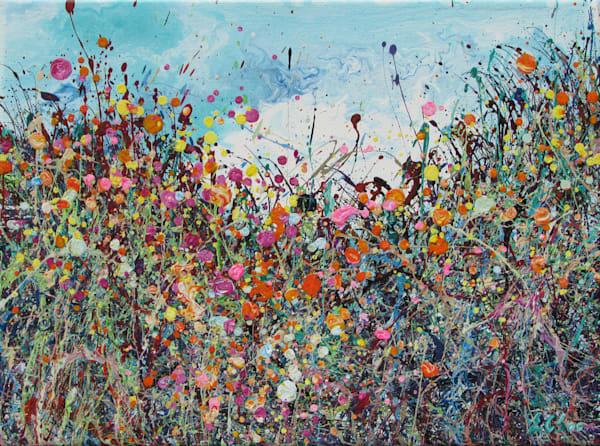Delightful Abundance/Abstract Floral Art/En Chuen Soo