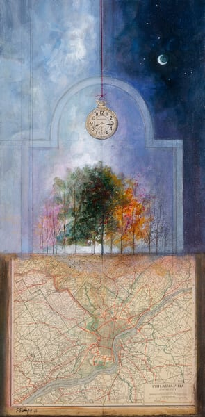 Philadelphia Timepiece Art | Freiman Stoltzfus Gallery