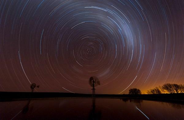 Blesfontein Night swirl