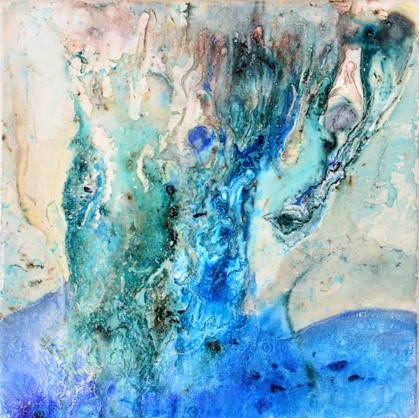 Original Abstract Island Art