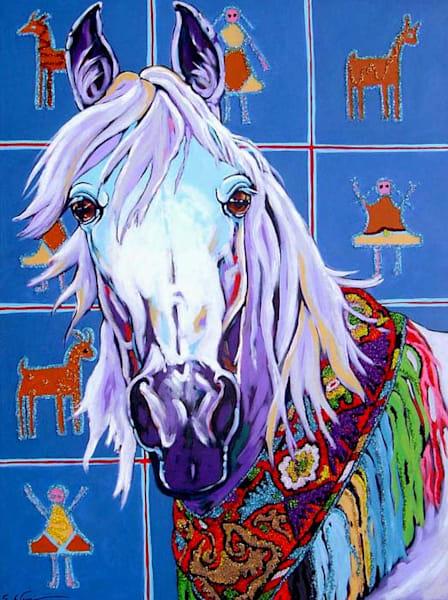 Arabian Sparkler Art | Sally C. Evans Fine Art