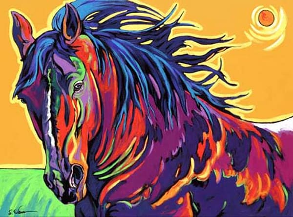 Crazy Horse Art | Sally C. Evans Fine Art