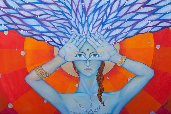 Third eye open Art by Adelaide