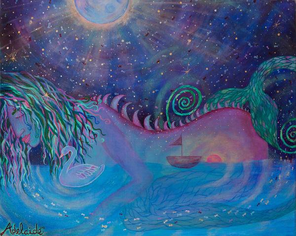 the lucid dreaming mermaid