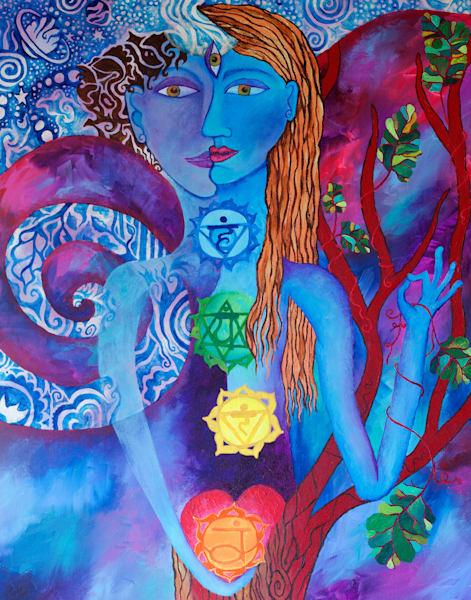 In harmony chakra art painting