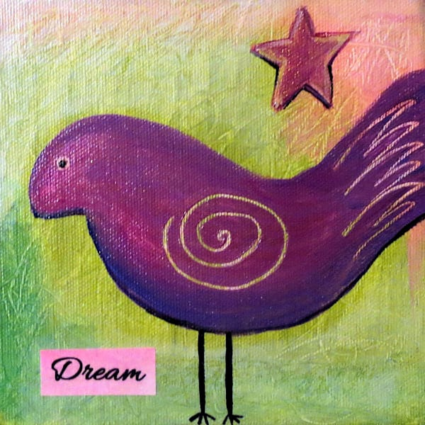 Dream Bird Art For Sale