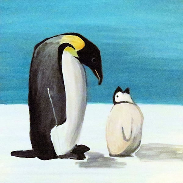 Penguin Love Art For Sale