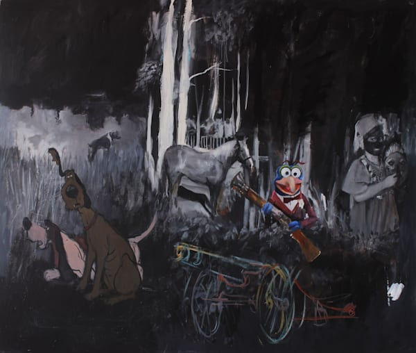 The Hunting Party 72*60