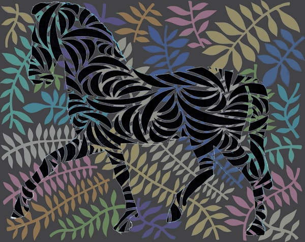 Leaf Horse