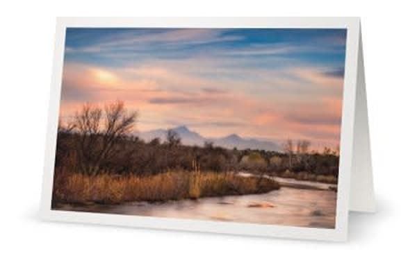 Sabino Creek Winter Landscape