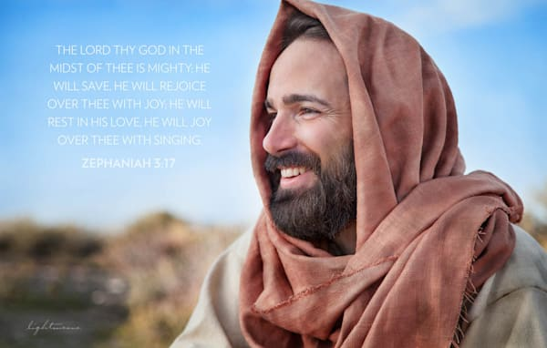 Good Shepherd with Scripture