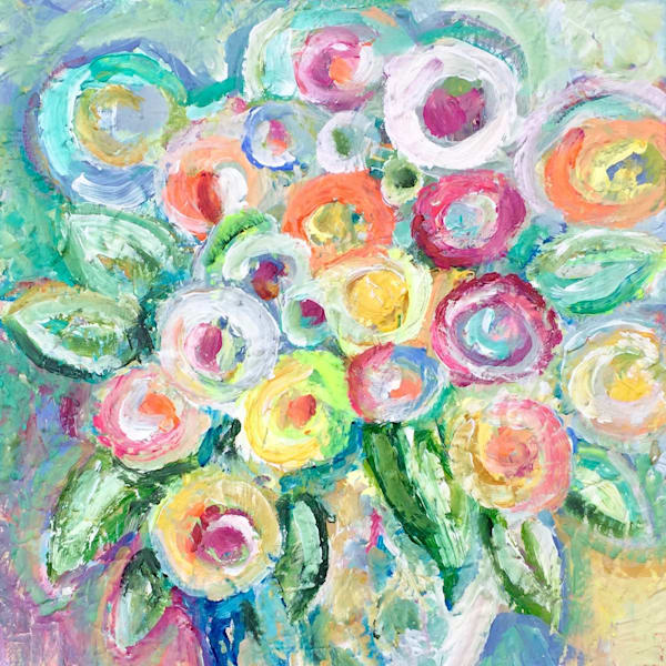 Flowers From J IV by Vanessa Drew   SavvyArt Market Sale Of The Year Smalls