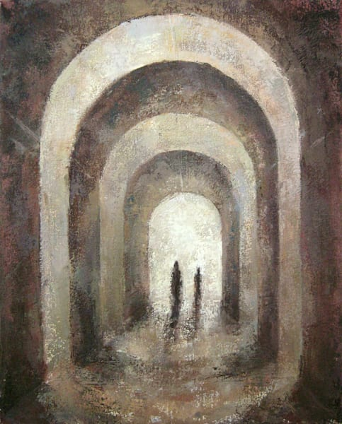 Original Arches Oil Painting by Michelle Arnold Paine
