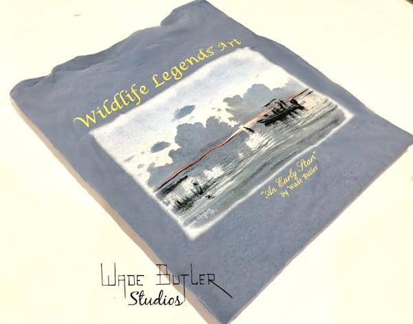 """Wildlife Legends Art-""""An Early Start"""" T-shirt"""