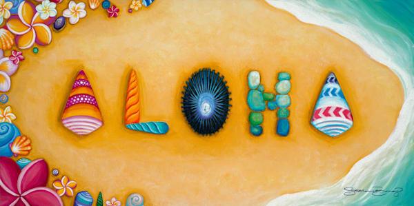Hawaii Art | Beachcomber's Dream by Stephanie Boinay