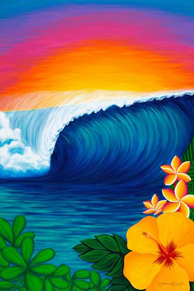 Hawaii Art | The Jewel by Stephanie Boinay