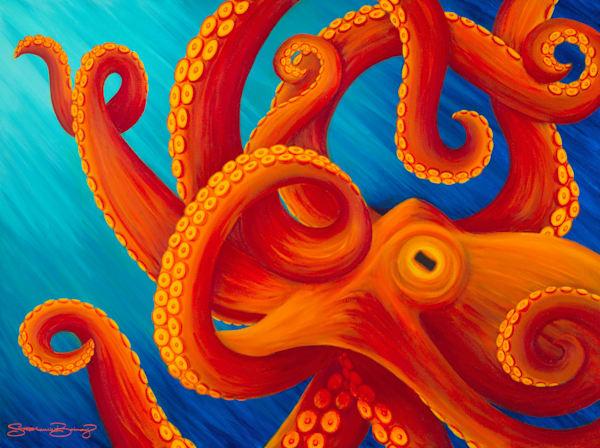 Hawaii Art | Tako Twist by Stephanie Boinay