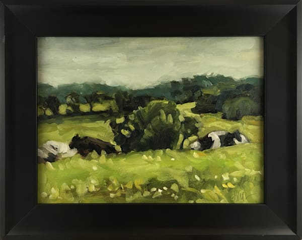 In Greener Pastures - Original Painting