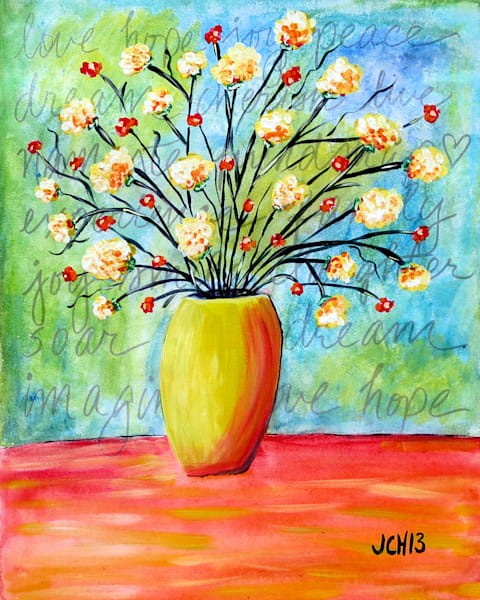 Spring Inspiration Flower Art For Sale