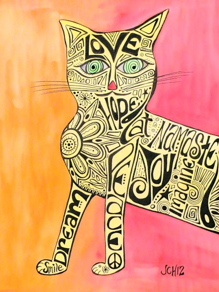Marcia Marcia Marcia Brady Cat Art For Sale