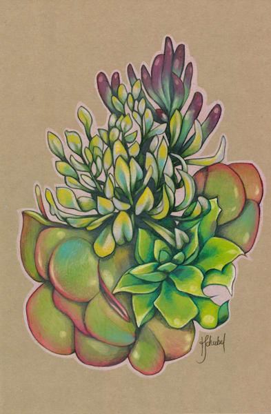 Succulent 1 - Original
