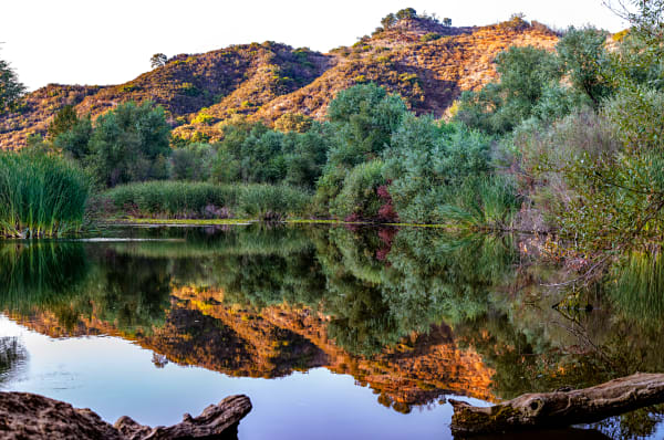 Century Lake Reflection Panorama Photograph For Sale As Fine Art