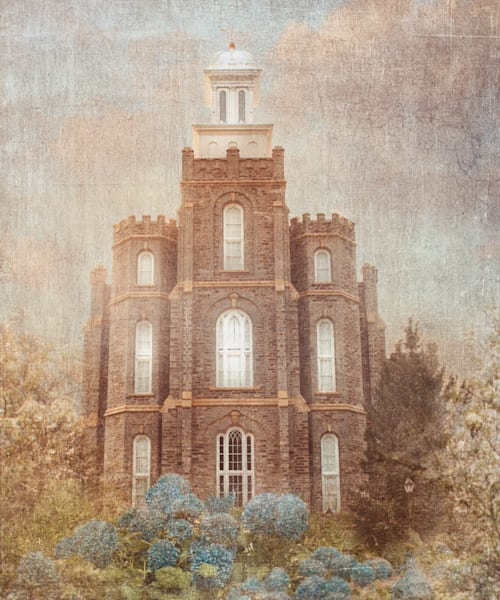 Logan Temple Serenity Art | Mandy Jane Williams Art