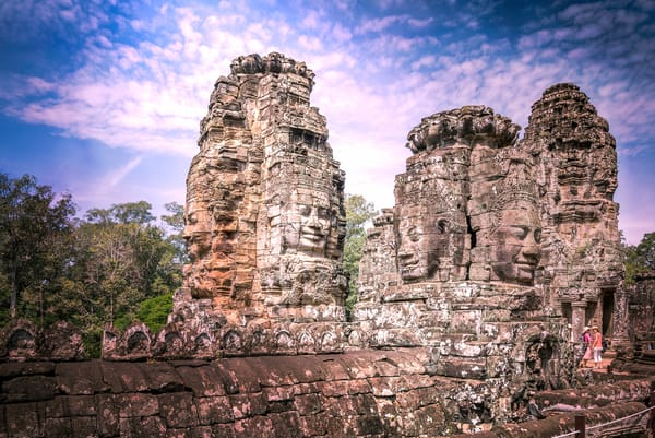 Faces of Bayon Temple | Susan J Photography | Fine art travel prints