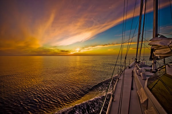 Sail Into Sunset