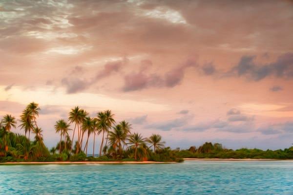 Penrhyn Sunset - Penrhyn Atoll, Cook Islands 2009
