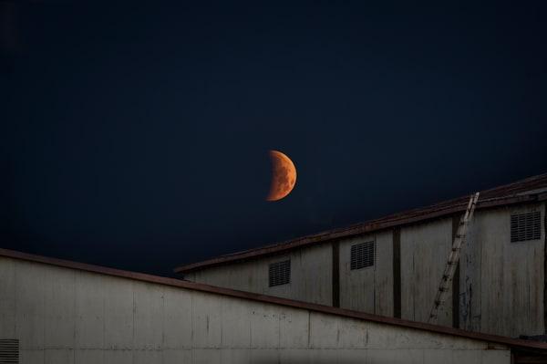 Industrial Eclipse    Photography Art | Carol Brooks Parker Fine Art Photography