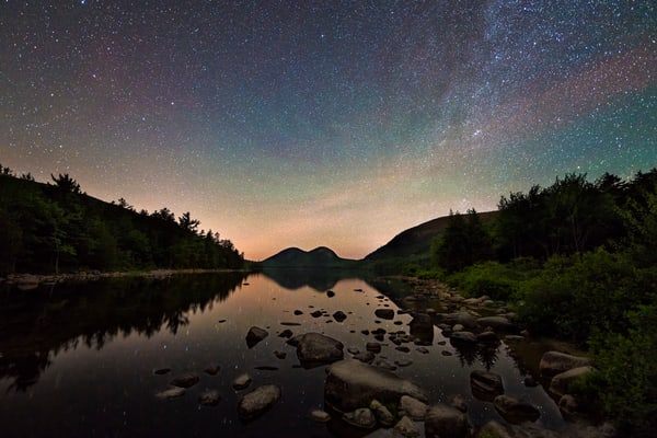 Airglow at Jordan Pond