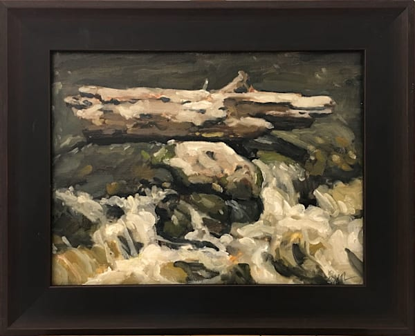 Fallen Nature - Original Oil Painting