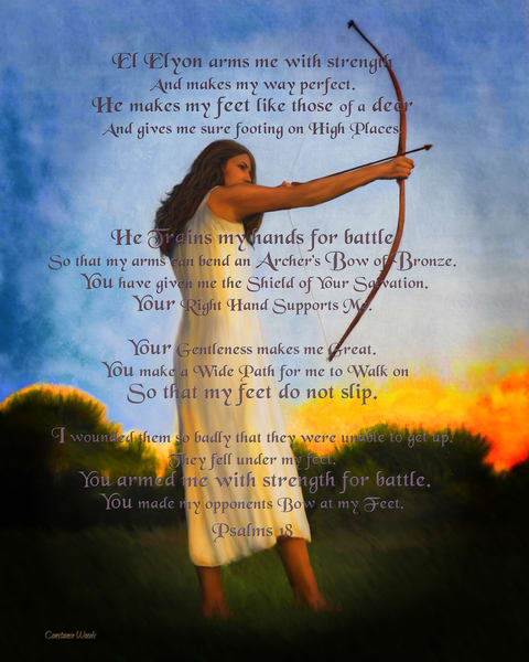 """""""Armed For Battle"""" by Constance Woods 